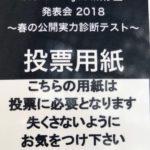 ハロプロ研修生発表会2018 ~春の公開実力診断テスト~レポとまとめ